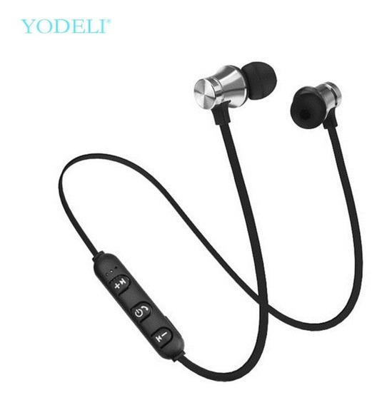 Fone De Ouvido Bluetooth Wireless Estéreo Sem Fio Prata