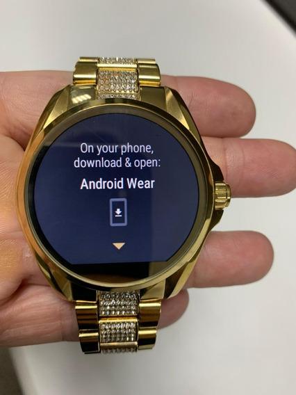 Relógio Michael Kors Smart Watch - Dourado - Feminino !!!