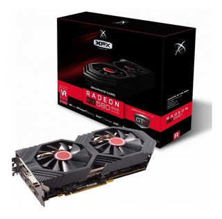 Placa De Video Amd Xfx Radeon Rx 500 Series Rx 580gts
