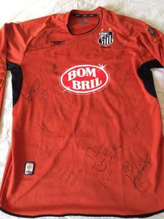 Camisa Santos Goleiro 2003 Away Umbro Autografada