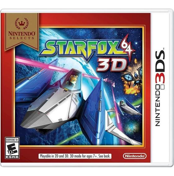 3ds - Star Fox 64 3d - Novo Lacrado C/ Nota Fiscal