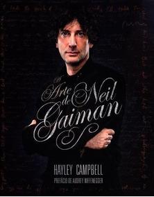 Livro A Arte De Neil Gaiman - Mythos -