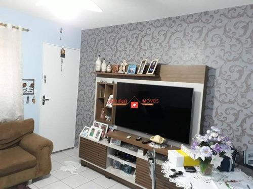 Apartamento Com 2 Dormitórios À Venda, 52 M² Por R$ 160.000,00 - Jardim Santo Expedito - Guarulhos/sp - Ap0006