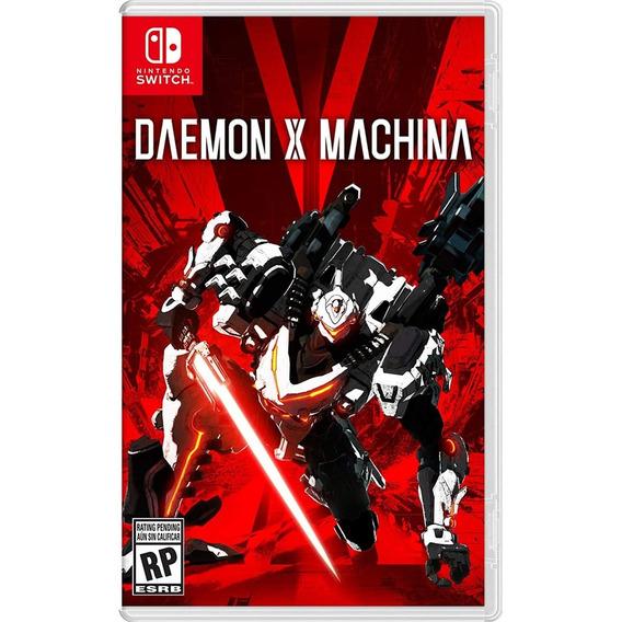 Daemon X Machina Switch Mídia Física Novo Lacrado Original