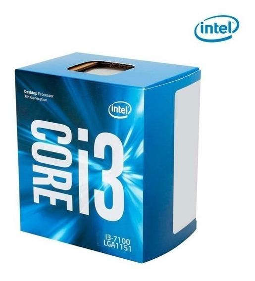 Procesador Intel, Core I3-7100, Séptima Generación, 3.90 Ghz