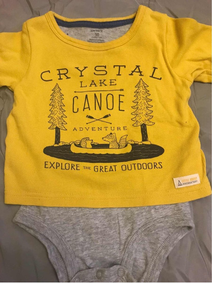 Body Remera Carters 18 Meses