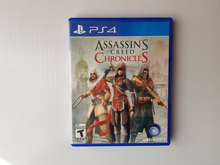 Juego Fisico Ps4 Assassin´s Creed Chronicles, Excelente Esta