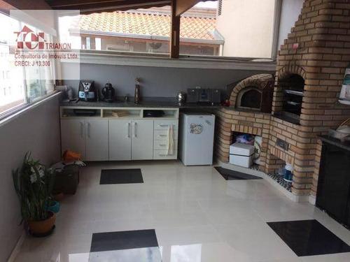 Imagem 1 de 10 de Duplex 2 Dormitórios À Venda, 98 M² Por R$ 330.000 - Parque São Vicente - Mauá/sp - Ad0009