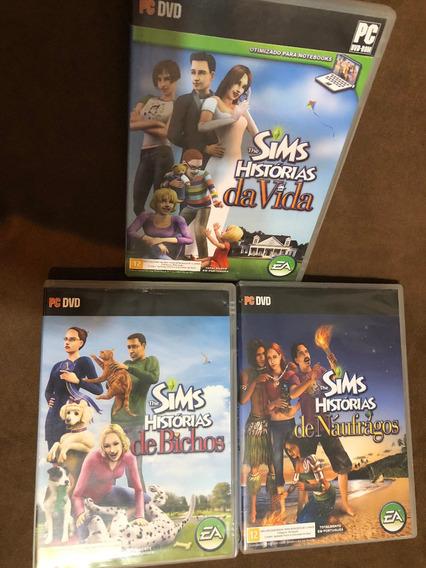 The Sims Histórias Da Vida, De Bichos E De Náufragos