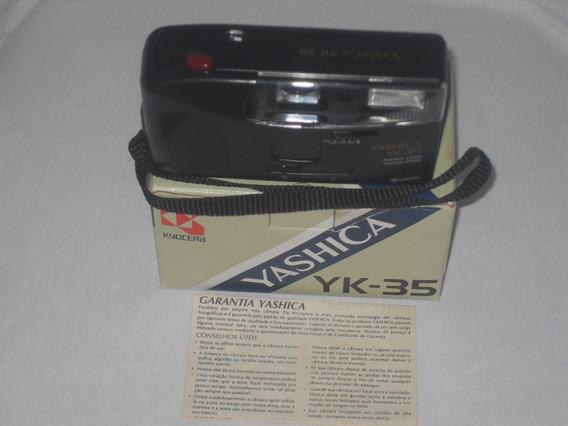 Máquina Fotográfica Analógica Yashica Yk-35