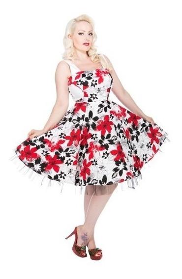 Vestido Original Londres, De Heard And Roses Xxxl