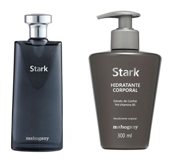 Kit Mahogany Stark: Colonia E Hidratante