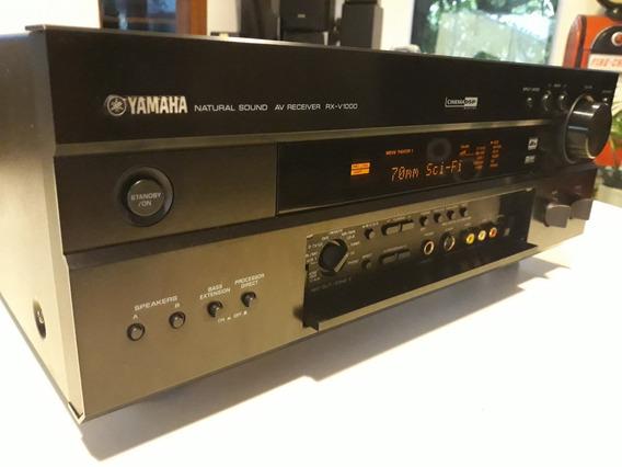Yamaha Receiver Rx- V1000 Phono Manual E Controle
