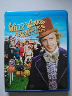 Willy Wonka A Fantástica Fábrica De Chocolate Blu Ray Wilder