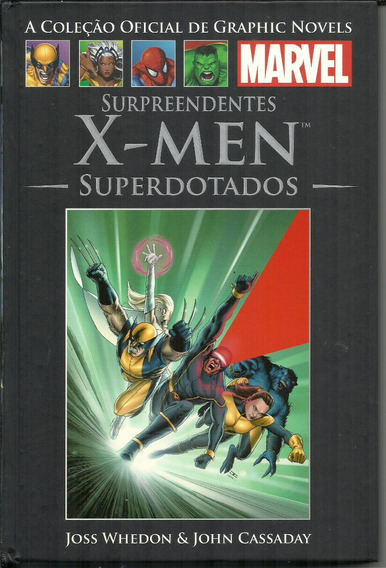 X-men Superdotados Marvel Graphic Novels 36 Capa Dura