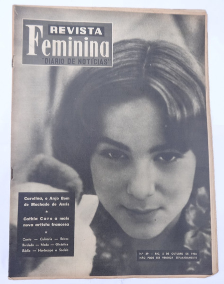 Revista Feminina Nº 39: Cathia Caro - Woody Herman - 1958