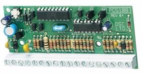 Expansor De Zonas Dsc Pc5108 + 8 Resistores