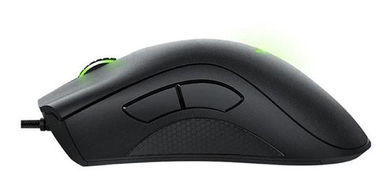 Mouse Gamer Razer Deathadder 6400 Dpi Cs Pubg Fallen Novo