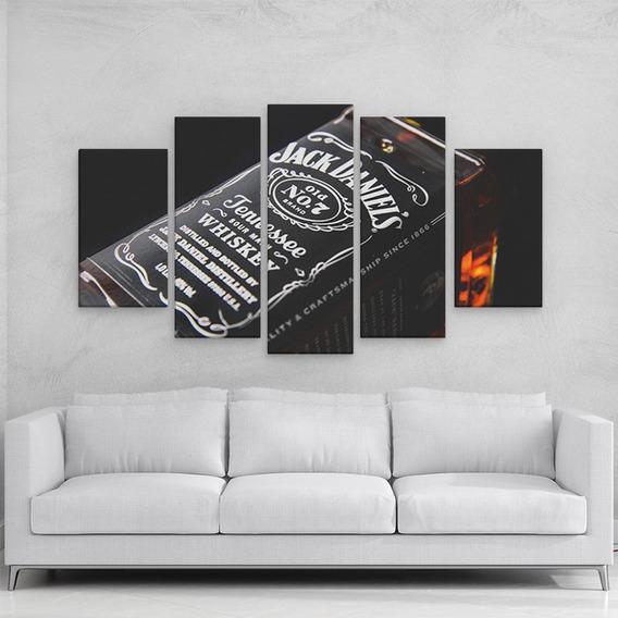 Quadro Decorativo Whisky Jack Daniels 108x65cm Em Mdf