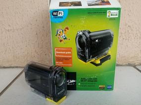 Sony Action Cam Com Wi-fi Integrado Hdr-as15
