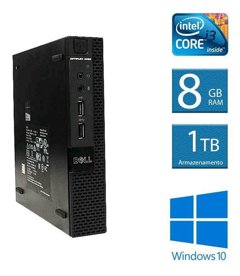 Computador Desktop Dell Optiplex Mini 3020 I3 8gb 1tb