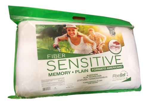 Almohada Fiberball Sensitive Memory Plain