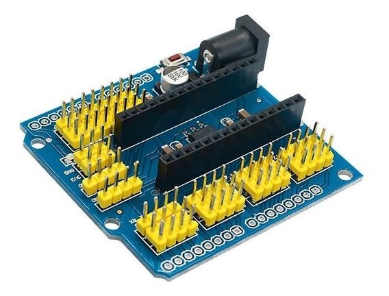 Placa De Expansão Sensor Shield Para Arduino Nano