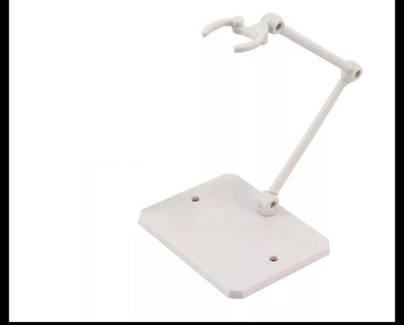 Base- Stand-display Action Figure Cor Branco.