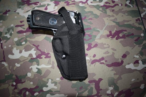 Pistolera Táctica Multicalibre Ambidiestra