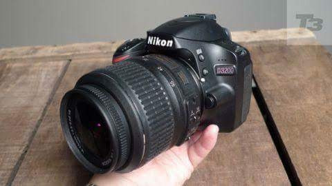 Câmera Fotográfica Nikon 3200+ Flash D600