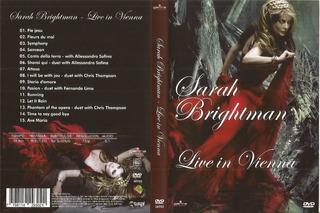 Sarah Brightman Live In Vienna Dvd Original Garra Mediacorp