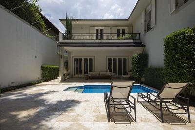 Casa Em Cidade Jardim, São Paulo/sp De 600m² 5 Quartos À Venda Por R$ 5.995.000,00 - Ca191097