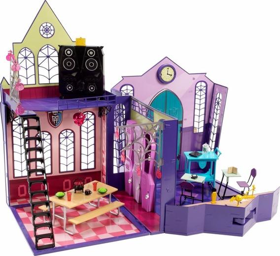 Monster High High School Casa Muñecas Juguetes Niñas