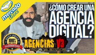 Agencias V3 + Halcones De Venta - Carlos Muñoz [best Price]