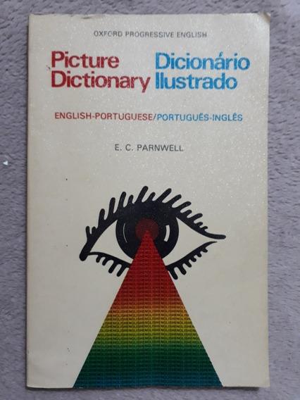 Dicionário Ilustrado Português - Inglês Oxford 1975 Antigo