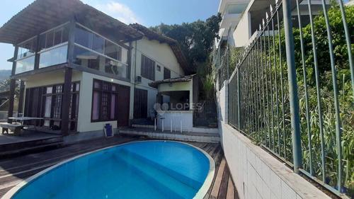 Imagem 1 de 14 de Casa Com 5 Quartos, 283 M² Por R$ 3.500.000 - Charitas - Niterói/rj - Ca21312