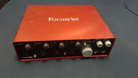 Interface De Áudio Focusrite Scarlett 18i8 - 2 Geração
