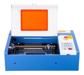 Cnc Cortadora Laser Co2 40w Con Luz Led Y Sensor Agua