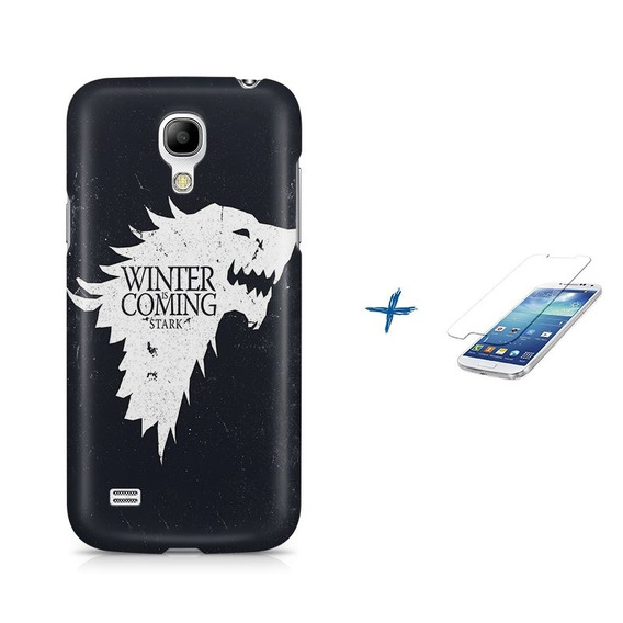 Kit Capa S4 Mini Game Of Thrones +pel.vidrbd1