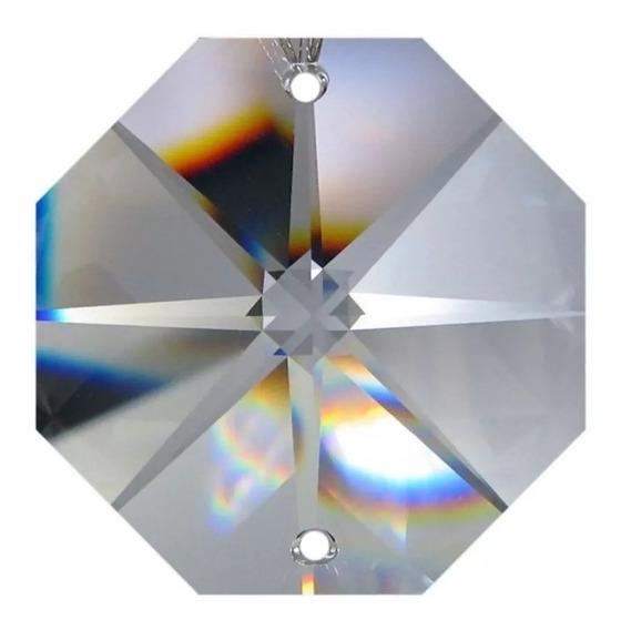 1000 Castanha De Cristal Italiana K9 Para Lustres !