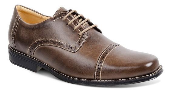 Sapato Social Masculino Sandro Moscoloni Vintary Marrom