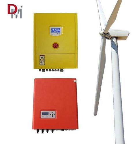 Gerador Eólico 5kw Aerogerador Controlador Inversor - Deming