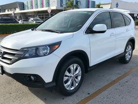 Honda Cr-v Ex 2014 Blanca
