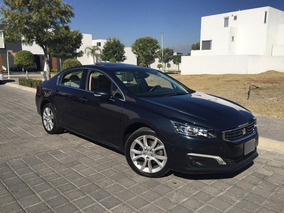 Peugeot 508 2016 1.6 Féline Nav At 4 Cilindros Gps Piel Led