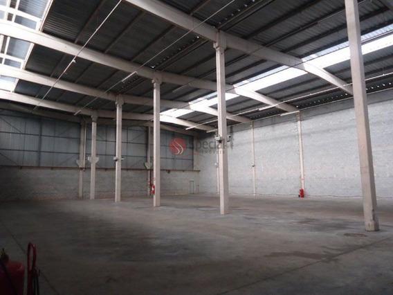 Galpão Industrial Para Locação, Jardim Itaquiti, Barueri. - Af14272