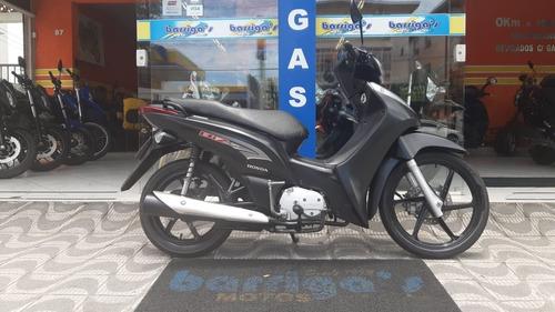Honda Biz 125 Ex 2014 Preta Fosca Impecável