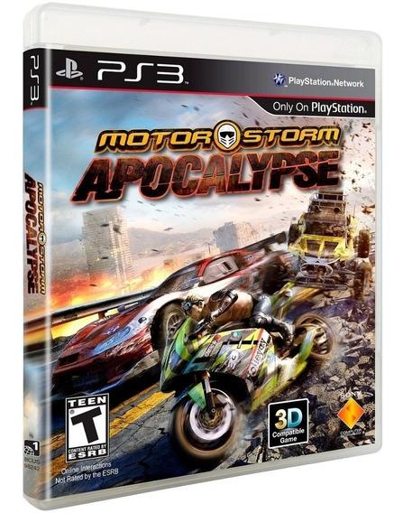 Motor Storm Apocalypse Ps3 Psn Envio Na Hora