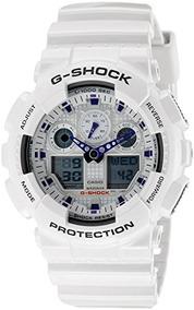 Casio G Shock Ga 100a 7 Blancomorado Rare Limited Edition