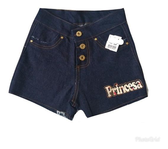 Shorts Jeans Juvenil Infantil Roupa Menina Jeans