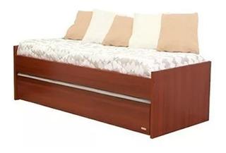 Divan Cama Platinum 957 Melamina Dormitorio Living Envios